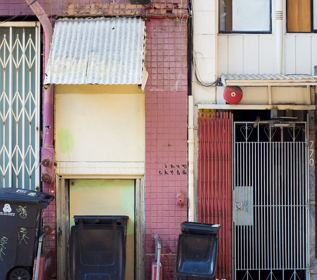 Chinatown doorways