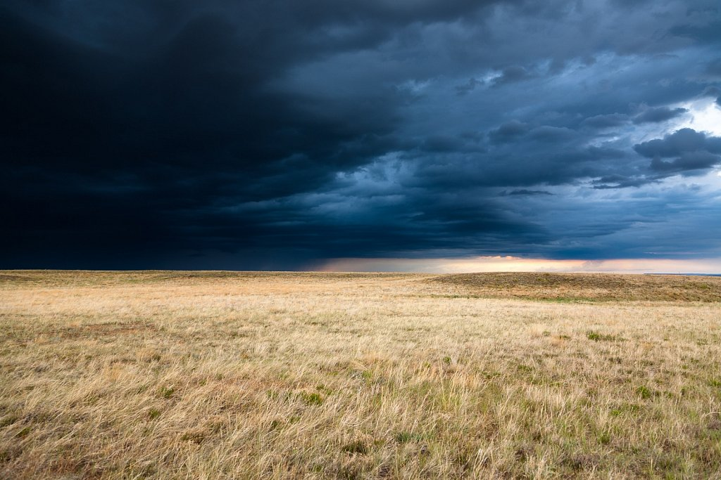 Stormy afternoon on the Colorado Prairie